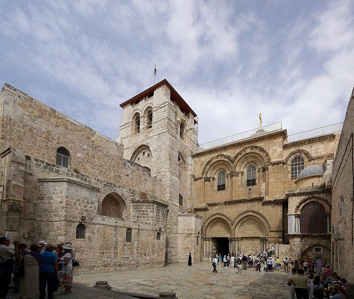 Tìm hiểu: Nhà thờ thánh giá Giêrusalem