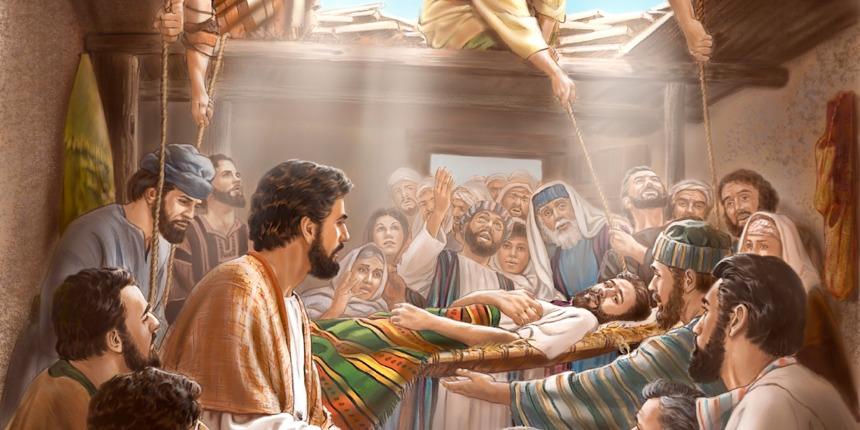 Kết quả hình ảnh cho chúa giêsu chữa lành kẻ liệt