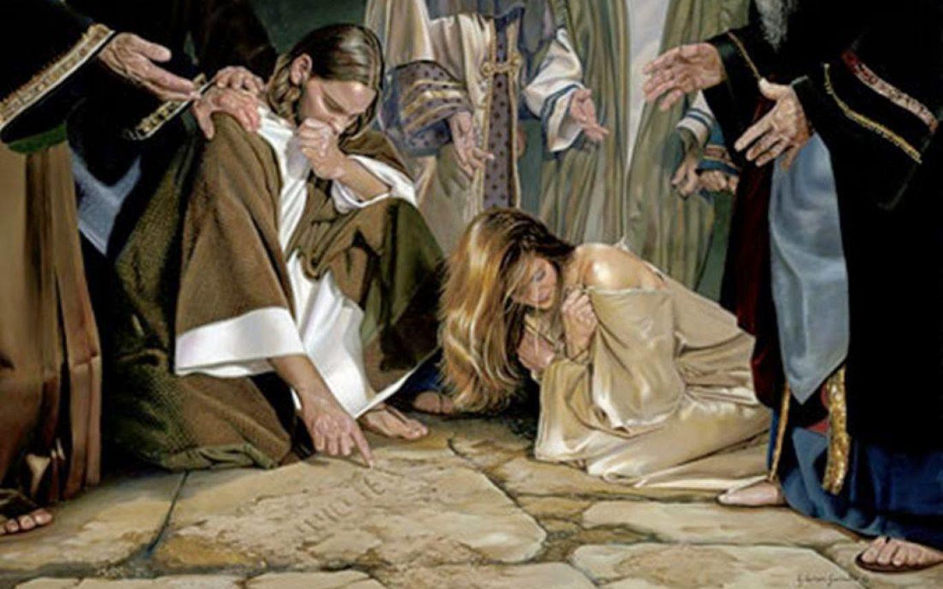 Kết quả hình ảnh cho woman caught in adultery