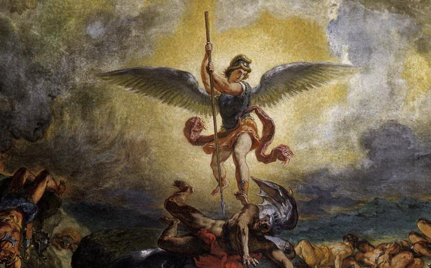 Kết quả hình ảnh cho thiên thần chống lại thiên chúa