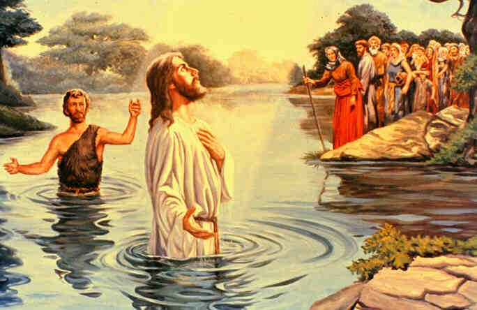 Kết quả hình ảnh cho chúa giêsu chịu phép rửa