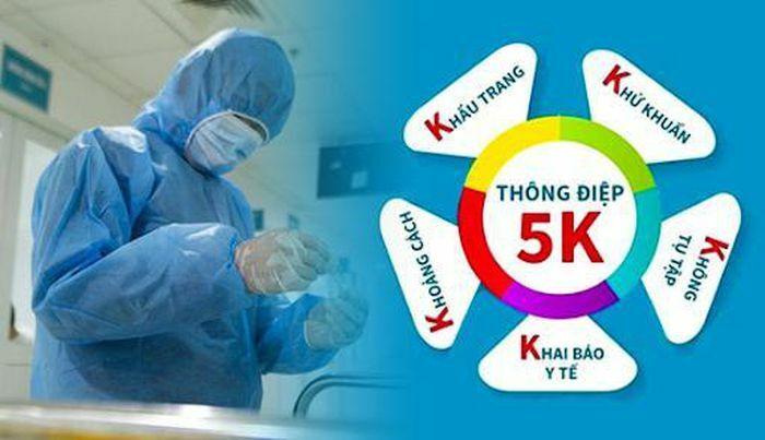 Thực hiện tốt 5K để chung sống an toàn với COVID-19 - Kênh Tin Việt